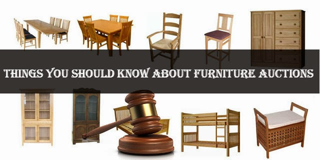 Furniture auction guide for buying & selling