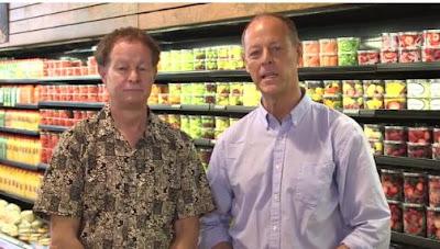 Double Parasites: John Mackey, left, and Walter Robb, Whole Foods co-CEOs