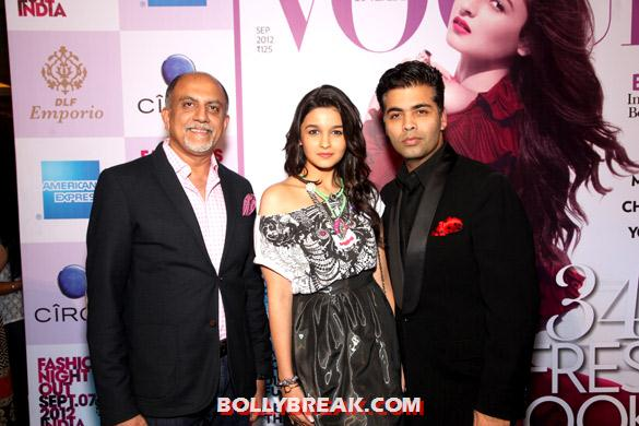 , Alia Bhatt At Vogue India's Fashion's Night Out Extravaganza