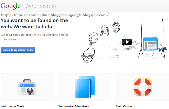 Cara Mempercepat Index posting Blog/Website-Google Webmasters Tools