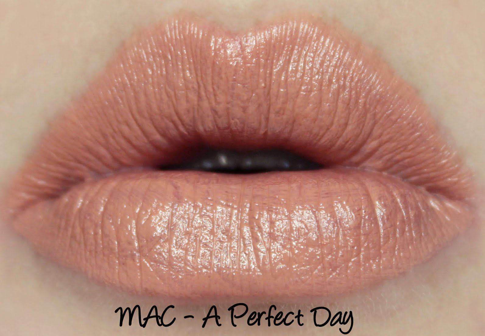 MAC Monday: A Perfect Day Lipstick Swatches & Review