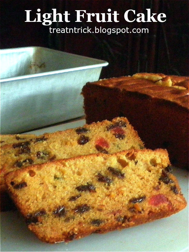 Treat Amp Trick Light Fruit Cake