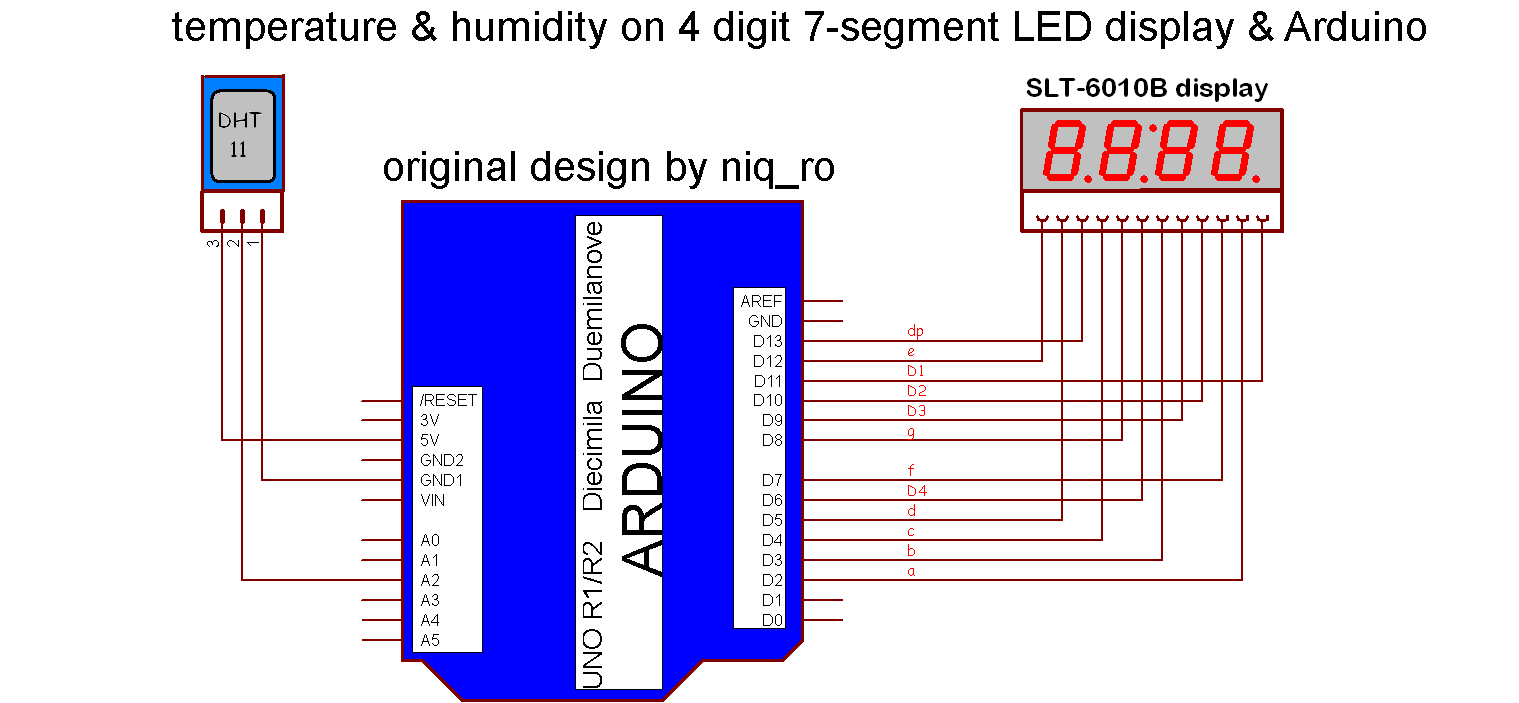 Images Of Segment Wiring Diagram Get Calto 7 Display Schematic 4 Digit Free Image About