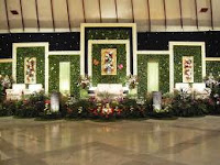 dekorasi pelaminan minimalis | ns decoration