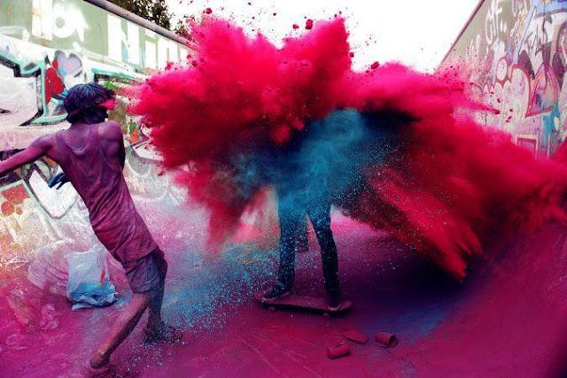 salazar, pink magenta photo