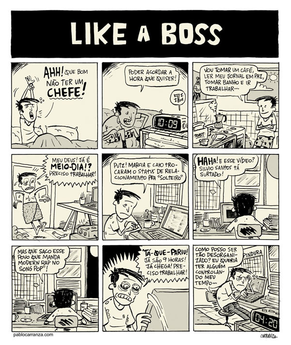 """Like a boss"" por Pablo Carranza"