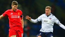 Video Gol Bolton Wanderers vs Liverpool 1-2 FA Cup
