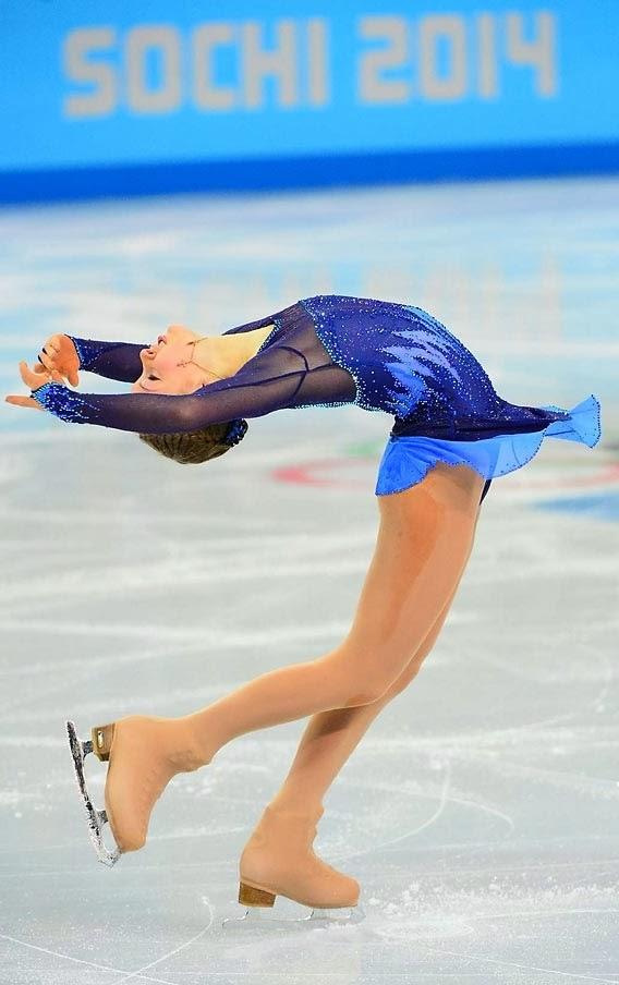 Yulia Lipnitskaya, Sochi Olympics, figure skating