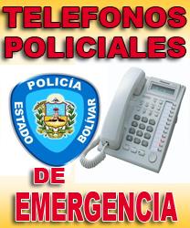 NUMEROS TELEFONICOS DE LOS CENTROS DE COORDINACION POLICIAL DEL MUNICIPIO HERES