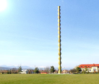 The Endless Column, Constantin Brancusi, Tg. Jiu, Romania