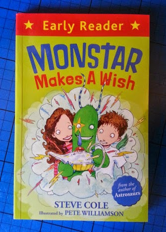 Monstar Makes A Wish Book Review for Early Readers