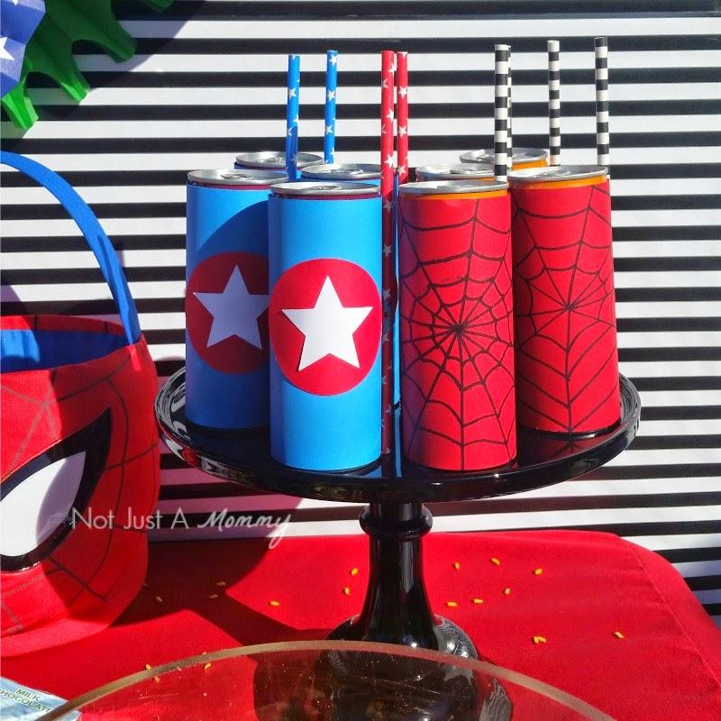 Disney Marvel Easter Egg Hunt drinks