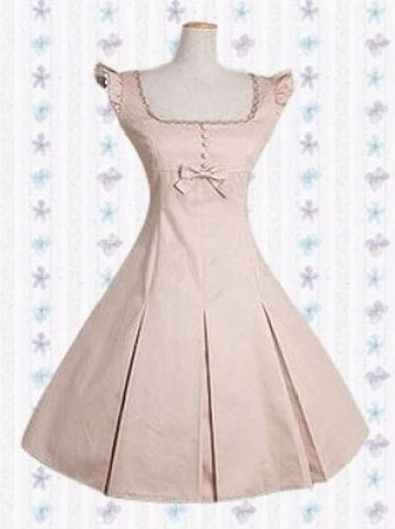 Simple Style Bow Classic Lolita Dress