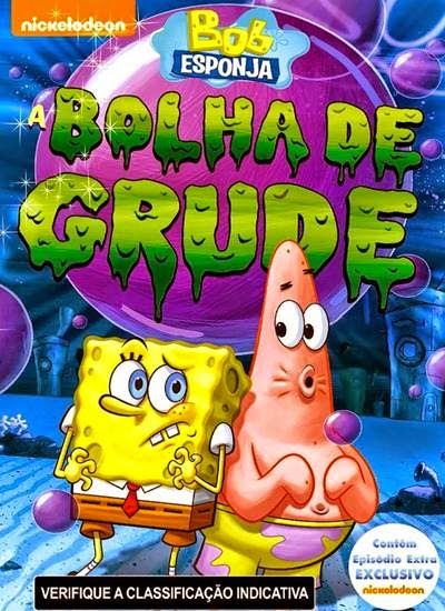 Download Bob Esponja A Bolha de Grude AVI + RMVB Dublado DVDRip Torrent Torrent Grátis