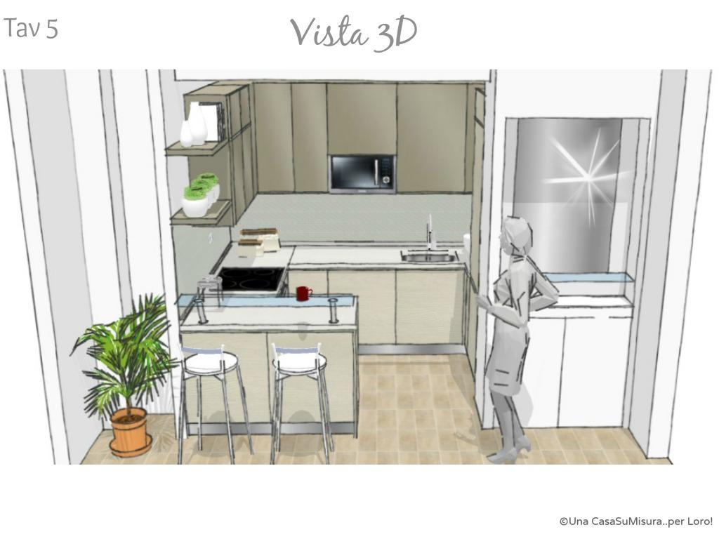 Una casasumisura per loro una casasumisura per voi la cucina di ernesto - Progettare una cucina ikea ...