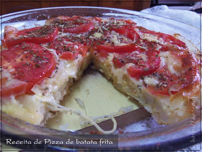 Pizza de batata frita