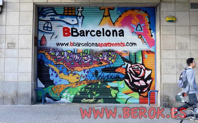 Graffiti Barcelona 2016