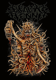 Black Henna Band Death Metal Jakarta Foto Wallpaper Artwork