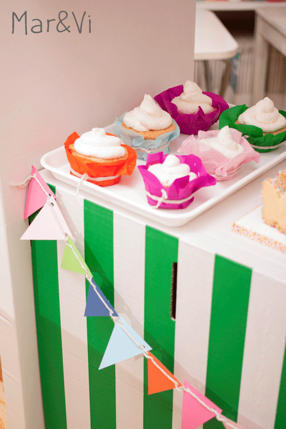 Cupcakes da decorare per bambini