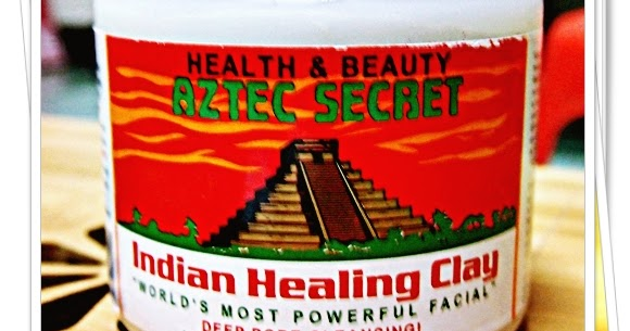 how to use aztec healing clay mask