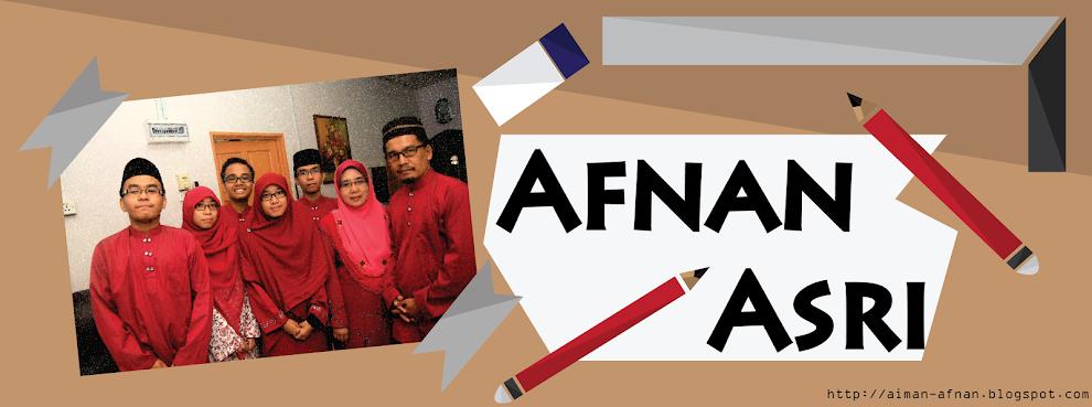 Aiman Afnan Mohd Asri