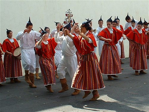 traditional dance Madeira