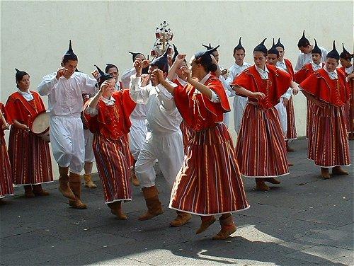 traditional dance Madeira