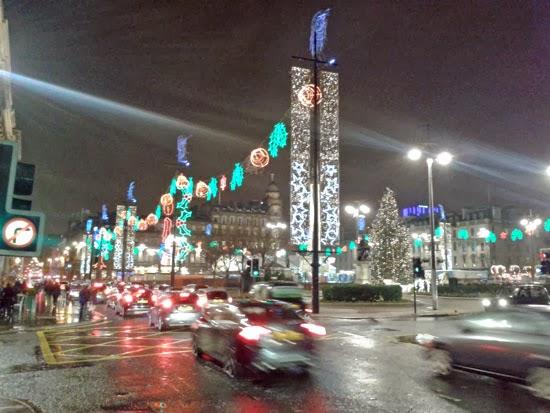 Glasgow Christmas, lights, retail