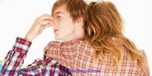 Penyebab Bau Ketiak