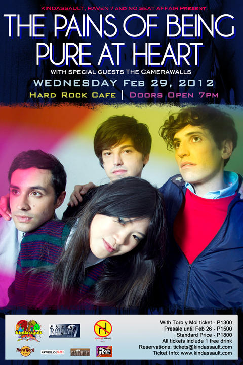 THE PAINS OF BEING PURE AT HEART LIVE IN MANILA