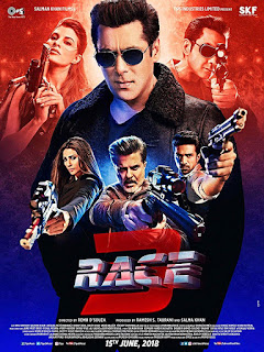Race 3 (2018) Hindi Movie hevc pDVDRip 210Mb