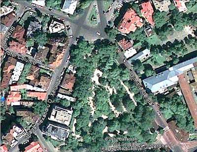 gradina icoanei vedere din satelit