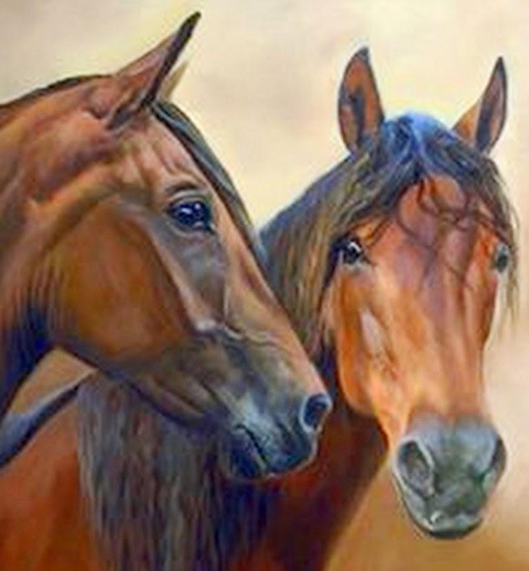 Pinturas Realistas de Caballos