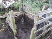 Allotment Growing - November Jobs - Compost Bin