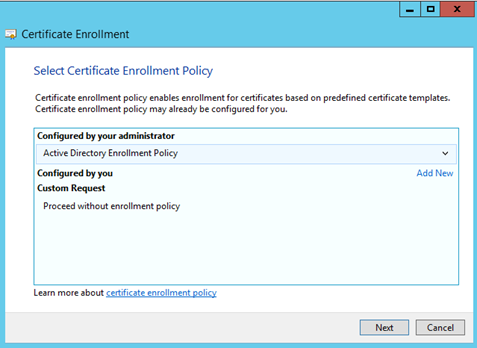 Mr know it identity and access management cybersecurity and click proceed without enrollment policy on the select certificate enrollment policy page and click next yadclub Gallery