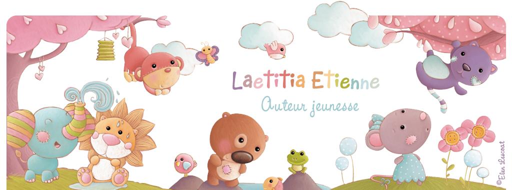 Laetitia Etienne auteur jeunesse