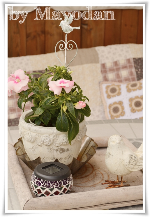 sommer auf der terrasse teil 2 mayodans home garden crafts. Black Bedroom Furniture Sets. Home Design Ideas