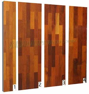 jenis lantai kayu merbau