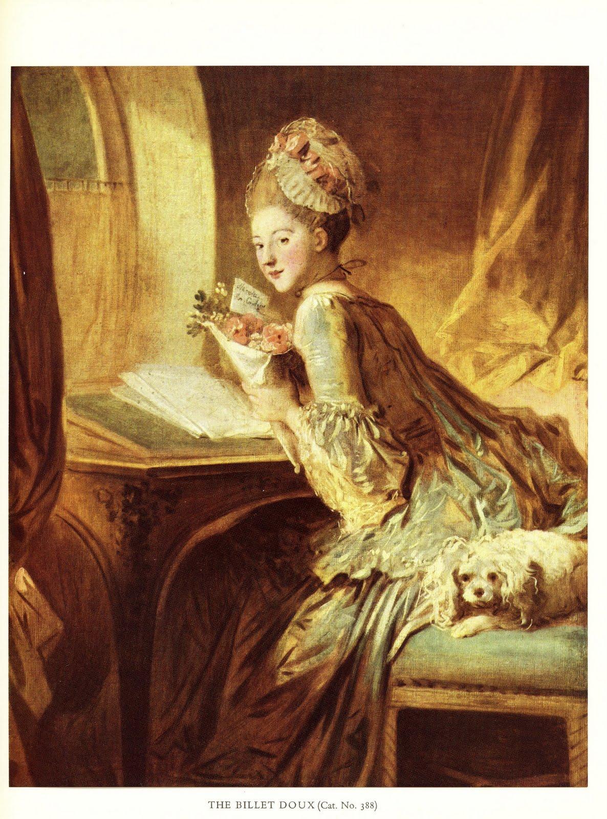 Brocantaria schilders o a fragonard en boucher - Decoratie schilderij gang ...