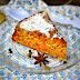Safran macht den Kuchen gelb - ein höchst aromatischer Karotten-Gewürz-Kuchen