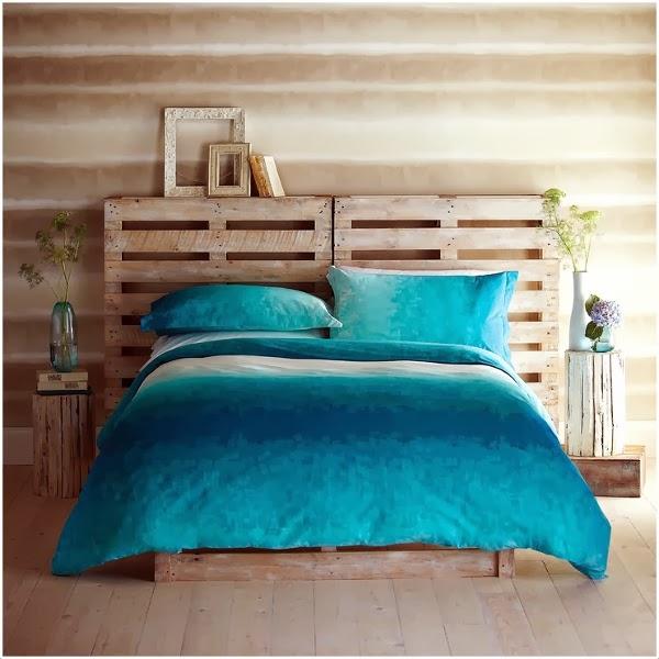 Cabeceros diy decorar tu casa es - Decorar pared cabecero cama ...