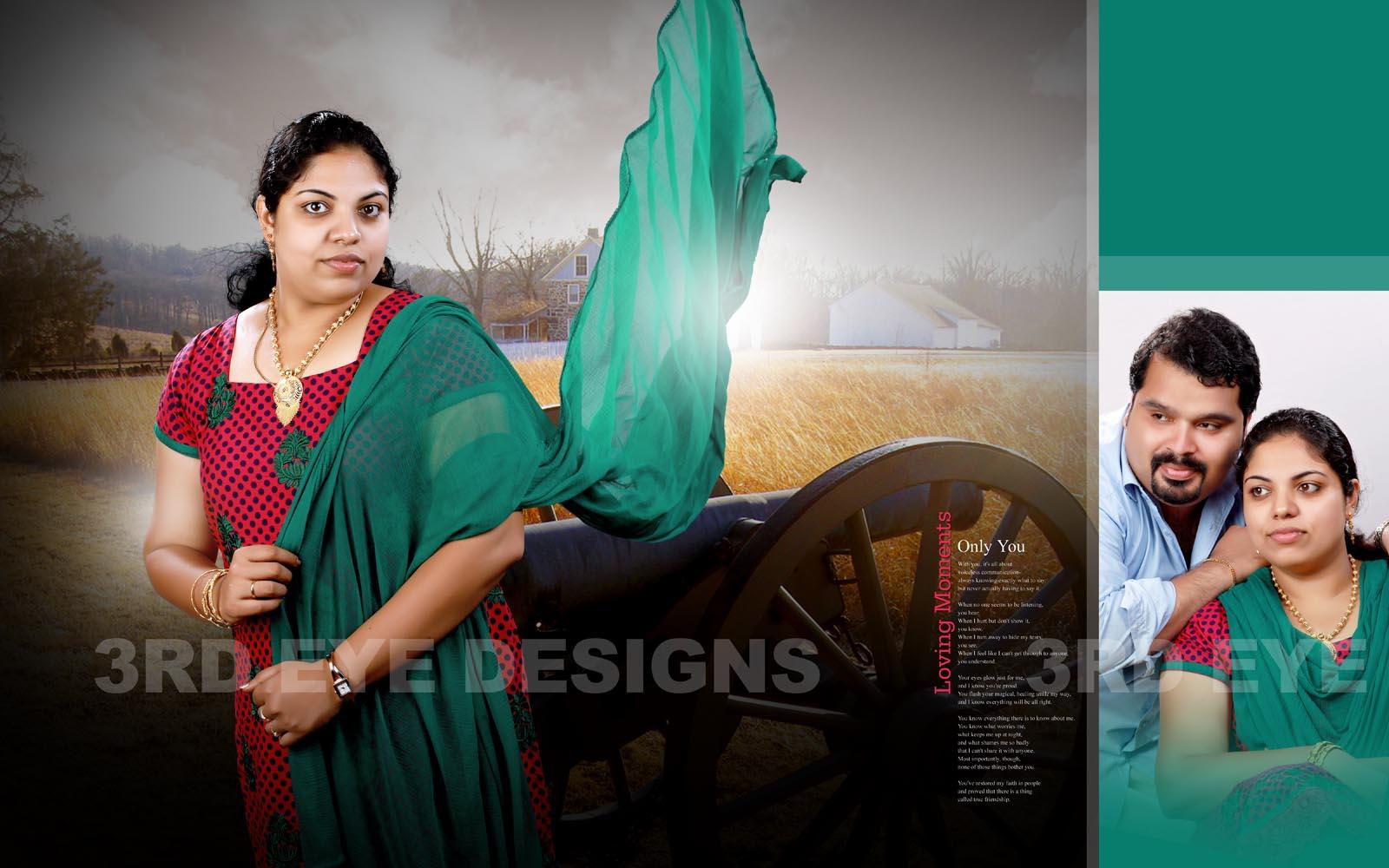 3rdeyedesigns kerala wedding albums wedding albums for Wedding album design