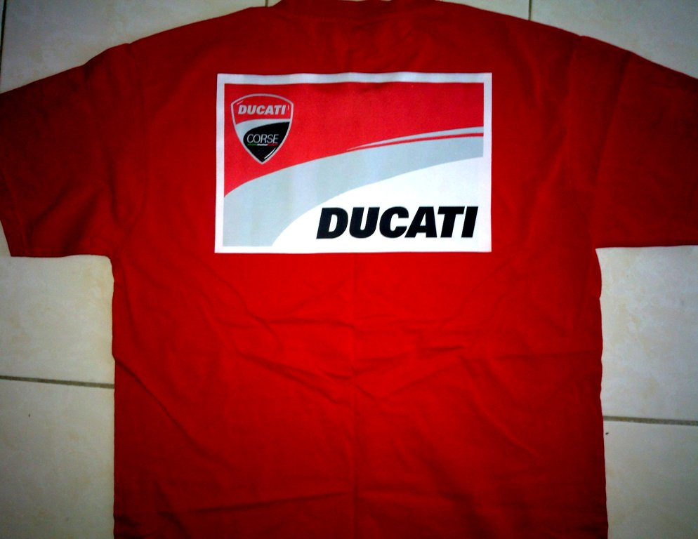 Backupmotogpf1store Ducati Corse 2011 Woven Label Patch