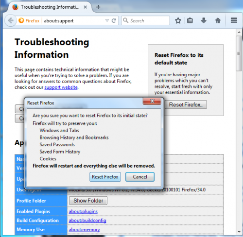 how to stop popups and redirects in firefox