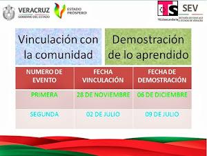 DEMOSTRACIONES Y VINCULACIONES DE LO APRENDIDO 2013-2014