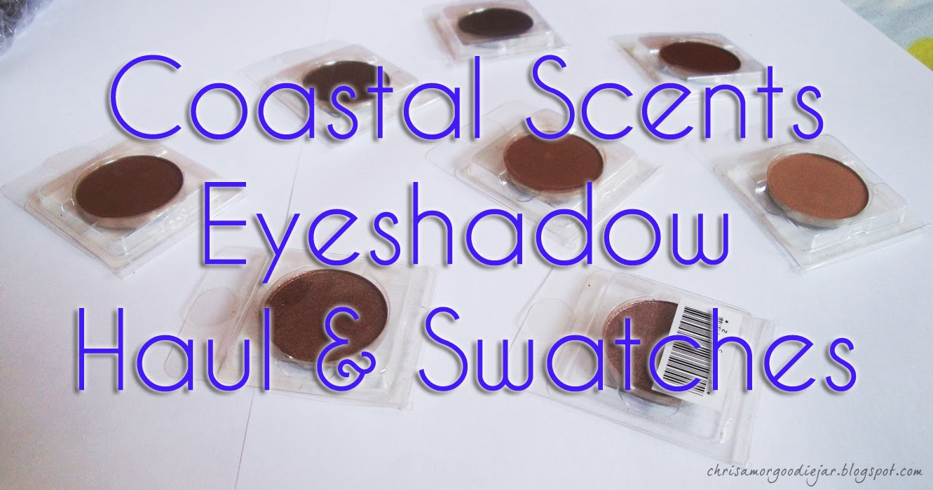 Coastal Scents Neutral Eye shadow Haul & Swatches