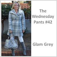 Sydney Fashion Hunter - The Wednesday Pants #42 - Glam Grey
