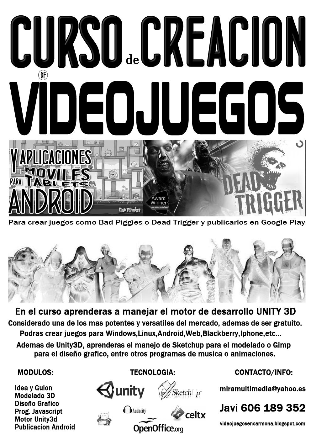 DISEÑA TU PROPIO VIDEOJUEGO