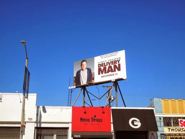 Delivery Man movie billboard