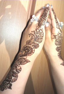 Bridal Mehndi Fashion Pictures